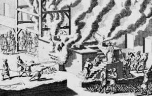Reverberatory Furnace 17th century